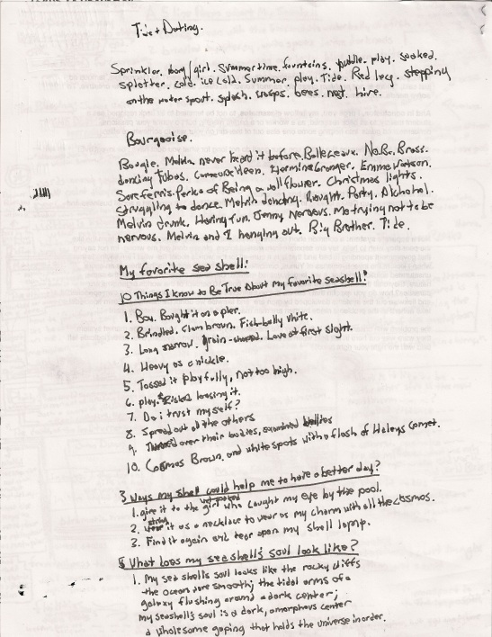 Tide + My Seashell
