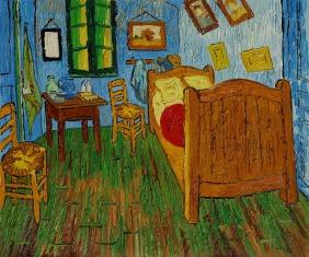 Bedroom at Arles by Vincent Van Gogh OSA393